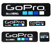Cool GoPro DIY Sticker Self Adhesive Stickers HD HERO Icon Sticker 5Pcs Black