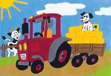 Arte Espina children's rug - Tractor