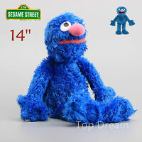 OFFICIAL Sesame Street Grover Plush Toy Soft Stuffed Doll 14'' Teddy Xmas Gift