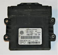 VW Golf 1.6 FSI Caja De Cambios Automática Unidad De Control Ecu OEM 09G 927 750 EA