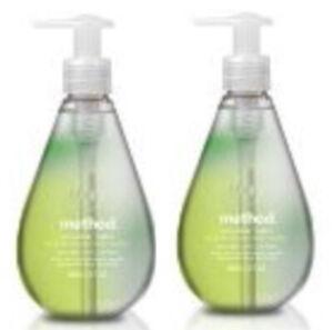 2 Method Gel Hand Soap ~ Cucumber Water 12 fl oz Each