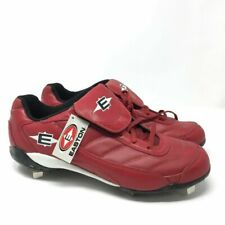 Easton Mens Baseball Softball Low Cleats US 15 EUR 50.5 M33201 Spikes Red NEW