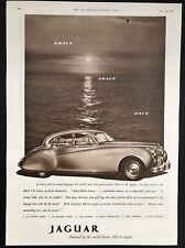 JAGUAR Mark VII Saloon - Vintage B&W Magazine Advert / Motoring (24 May 1952)*