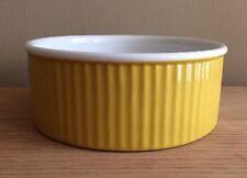 MICHAEL LAX DESIGN COPCO Yellow & White Bowl,Danish Modern,Ovenproof China,USA