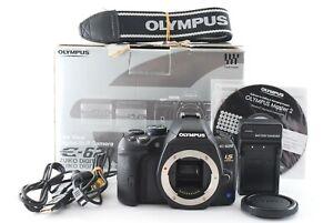 Olympus E-620 12.3MP DSLR Camera Black W/Box Shutter Count 155 [Near Mint]