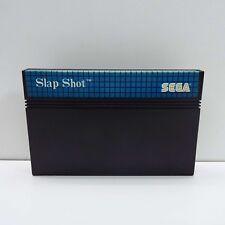 SLAP SHOT SEGA MASTER SYSTEM BLUE LABEL (CARTRIDGE ONLY) F800