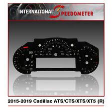 Speedometer Faceplate Fits a 2015-2019 Cadillac ATS/CTS/XTS/XT5 (MPH) (R)