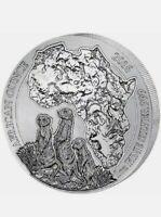 2016 Rwandan Meerkat 50 Francs 1 oz Silver Coin .999. Excellent Low Price.$__-_