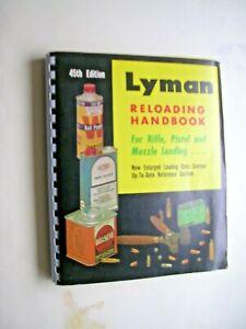 LYMAN RELOADING HANDBOOK 45th Edition