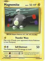 POKEMON XY EVOLUTIONS CARD - MAGNEMITE 37/108