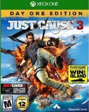 Just Cause 3 Day One Edition JC3 Xbox One Xb1 xone xbone game 2015 BRAND NEW