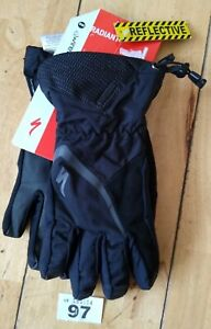 NEW SPECIALIZED RADIANT WATERPROOF GLOVES S/M TOUCH SCREEN MTB ROAD TOURING BIKE