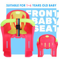 Bicycle Bike Front Seat Safety Baby Child Kids Carrier Thick Non-slip Guardrail