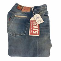 LEVI'S VINTAGE CLOTHING jeans 501 1966 light with rips fit regular