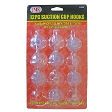 12 Pack Suction Cup Hooks
