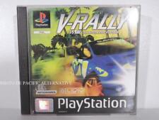 jeu V-RALLY 97 CHAMPIONSHIP EDITION pour Playstation 1 ps1 psx francais complet
