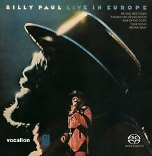 Billy Paul - Live in Europe  [SACD Hybrid Multi-channel] *LIMITED EDITION*