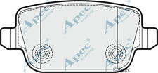 REAR BRAKE PADS FOR FORD MONDEO TURNIER GENUINE APEC PAD1532