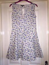 Le Blossom Ditsy Schleife Kleid, Größe 12-wunderschön-NAGELNEU!