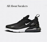 "Nike Air Max 270 ""Black / Anthracite / W"" Men's Trainers Limited Stock All Sizes"