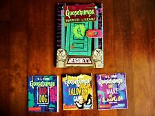 COMPLETE GOOSEBUMPS HAUNTED LIBRARY MINI BOOKS BY RL STINE 1996 BY HERSHEY'S