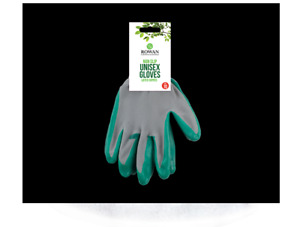 Gardening Gloves Coated rubber Grip Safety Working Protective men/ women