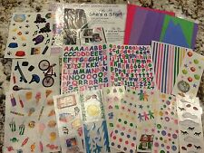 CREATIVE MEMORIES SHE'S A STAR SNAP PACK ALBUM KIT PAPER & STICKERS ABC LETTERS