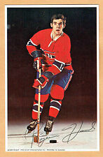 1969-71 Canadiens (Pro Star Promotions) Team Issued Postcard, Rejean Houle