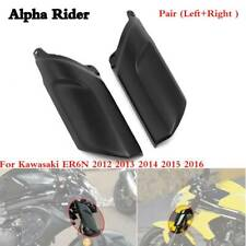 Front Wheel Fender Fork Shock Cover Fairing Cowling for KAWASAKI ER6N 2012 -2016