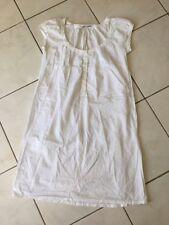 Robe MAJE taille 2 soit 38/40 coton blanc