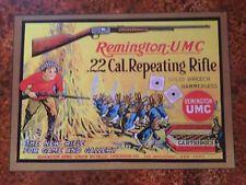 Remington gun poster sign display