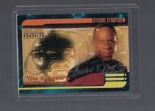 Avery Brooks Star Trek Deep Space Nine Signed Trading Card W/Our COA