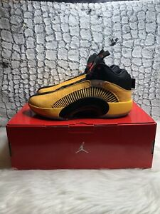Nike Air Jordan XXXV 35 Dynasties FC PF Shoes University Gold (11)  DD3044-700