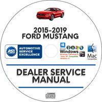 Ford Mustang 2015-2019 Factory Service Repair Manual