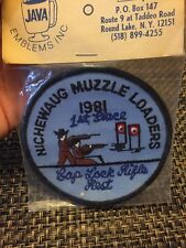 Vintage Michewaug MUZZLE LOADERS ARMS HUNTING CLUB PATCH