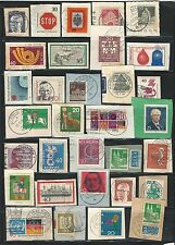 Germany:  Lot of stamps in fragment, good condition, modern.. GE276