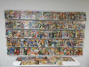 Huge Lot 140+ Silver/Bronze Comics W/ X-Men, Spider-Man, Flash & more!