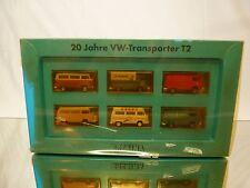 BREKINA VW VOLKSWAGEN T2 - 20 JAHRE VW-TRANSPORTER 1:87 - EXCELLENT IN BOX