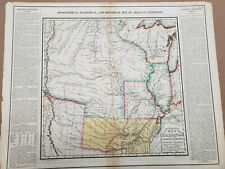 New ListingGeographical, Historical, And Statistical Map Of Arkansas Territory 1822 Scarce!