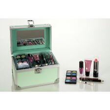 Accentra: gefüllter Schminkkoffer, Kosmetikkoffer Trendy, Alu-Design-Mint