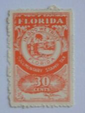 (1)  used Florida State Documentary Revenue Tax Stamp-30 cent-