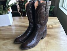 Lucchese Alligator Belly Cowboy Boots 11B / Will also fit a 10 1/2 D