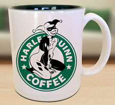 Harley Quinn Starbucks Anime Manga Japanese Insipred Cartoon Geek Nerd Mug