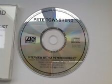 THE WHO Pete Townsend interview with a psychoderelict - Rare US Atlantic Promo