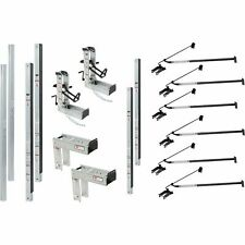 Qual-Craft Aluminum Pump Jack Scaffolding System Starter Kit- 36ft #3016