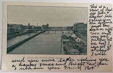 Undivided Back Pc Harbor From Railroad Bridge Oswego, New York