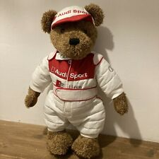 More details for audi sport teddy bear s line racing outfit posable children classic