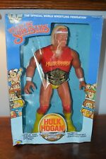 "Hulk Hogan Rare 16"" LJN Toys R Us WWF 1985 Figurine in Box Wrestling Superstars"