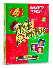 Jelly Belly 4th Edition Bean Boozled Naughty or Nice Advent Calendar 190g - New