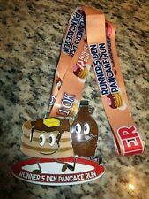 Runner's Den Pancake Run Marathon Race Finisher Medal